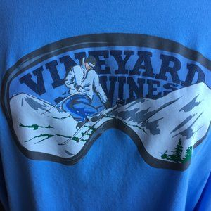 Vineyard Vines Long-Sleeve Ski Scene Tee (NEW)
